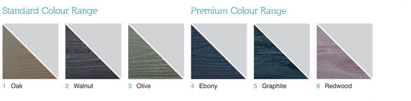 The Fitrite Decking Colours